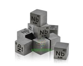 Niobio cubo densità 10mm 99.99%