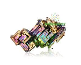 Bismuto cristallo puro 99.99% grandi dimensioni