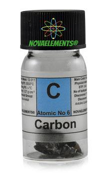Carbonio pezzi 1 grammo 99.9%