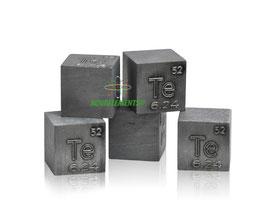 Tellurio cubo densità 10mm 99.999%
