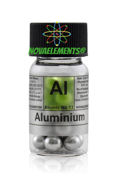 Alluminio sfere grandi 99,99%