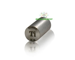 Titanio cilindro 99,95%