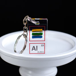 Alluminio anodizzato portachiavi