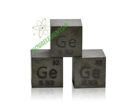 Germanio cubo densità 99.999% 10mm