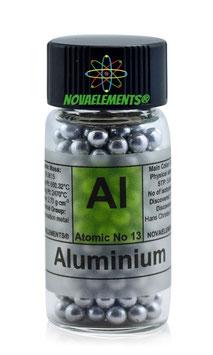 Alluminio 99,99% vial piena