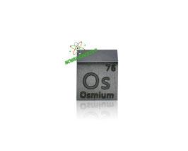 Osmio cubo densità 10mm 99.99%