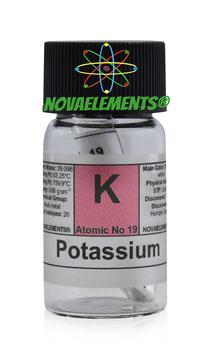 Potassio 1 grammo 99% sigillato in argon