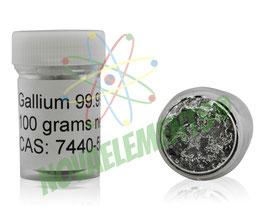 Gallio 100g 99.997% flacone
