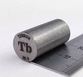 Terbio cilindro 10x20mm 99,95%