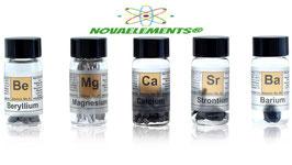 Set completo di metalli alcalino-terrosi