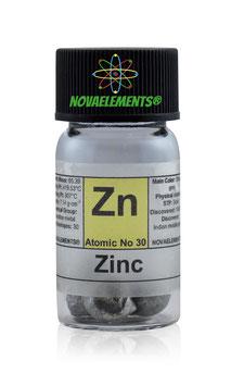 Zinco pellets 3 grammi 99,9%