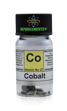 Cobalto pezzi 2 grammi 99,99%