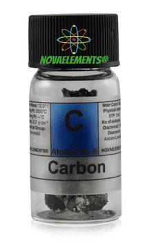 Carbonio 99.9% fiala piena