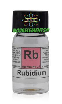 Rubidio 20 mg 99,99% in argon
