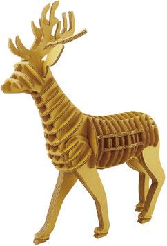 Tierfigur-Steckbausatz: Hirsch