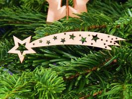 Sternschnuppe - Weihnachtsdekoration