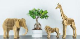 Tierfigur Steckbausatz: Giraffe