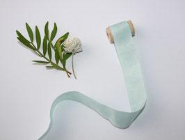 Seidenband aqua sky 2 cm breit