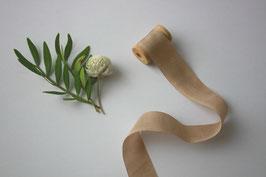Seidenband hazelnut 2 cm breit