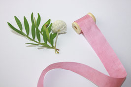 Seidenband pink blossom 2 cm breit