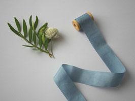 Seidenband reflex blue 2 cm breit