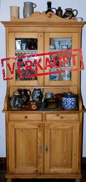 VERKAUFT:  Küchenschrank - Büffett - Alt