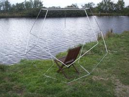Dodekaeder aus Aluminium