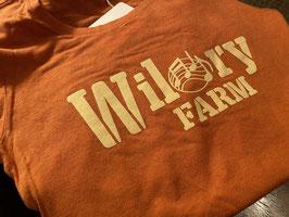 Ladies Wilory Farm Orange Bamboo/Hemp T-Shirt