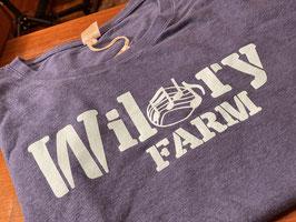 Wilory Farm Blue Bamboo/Hemp Crew Neck T-Shirt