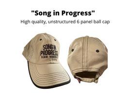 Song in Progress Cap!