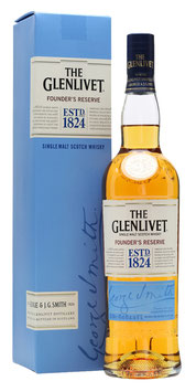 THE GELNTLIVET FOUNDER'S RESERVE SINGLE MALT