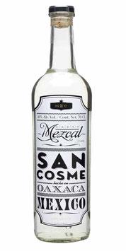 MEZCAL SAN COSME 100% AGAVE ESPADIN