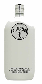 MEZCAL ALACRAN 100% AGAVE ESPADIN