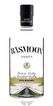 BASSMOON VODKA 5 DISTILLATIONS