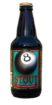 LOST COAST 8 BALL STOUT