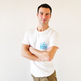 T-Shirt »WSW Logo« für Erwachsene, Farbe Weiß