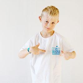 T-Shirt »WSW Logo« für Kinder, Farbe Weiß