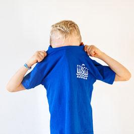 T-Shirt »WSW Logo« für Kinder, Farbe Blau