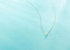 Buguette Cut Diamond Necklace