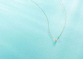 Buguette Cut Diamond Necklace