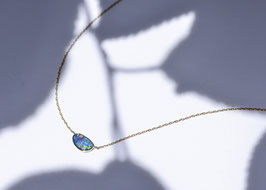 Azure Blue  -Necklace-