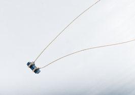 Tourmaline Diamond Necklace