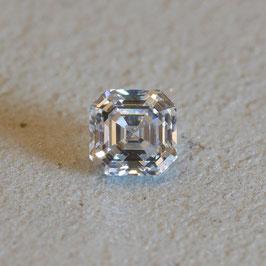 Asscher Cut Diamond/アッシャーカット 0.435ct ★
