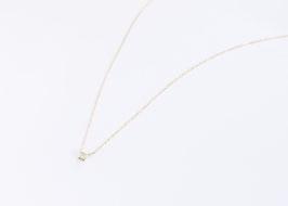 Princess Cut Diamond Necklace 0.134ct
