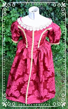 """Robe XVII éme s """"Vaux le Vicomte"""" . costume historique, taille 6 ans"""