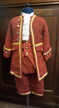 Costume petit marquis taille 6 ans