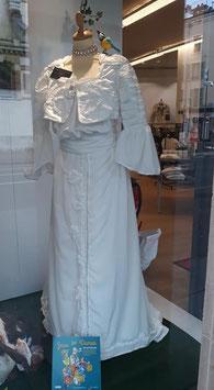 robe de cocktail 1906 crème taille 38/40