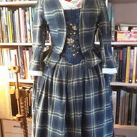 Costume Ecossais   fin 18 eme siècle taille 40/42