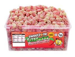 Fizzy Mini Strawberries (1P) - Halal