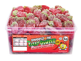 Fizzy Giant Strawberries (5P) - Halal